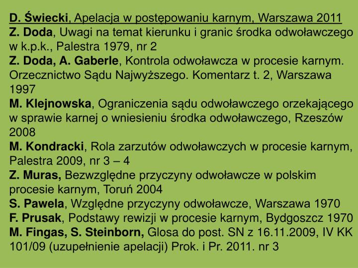 D. wiecki
