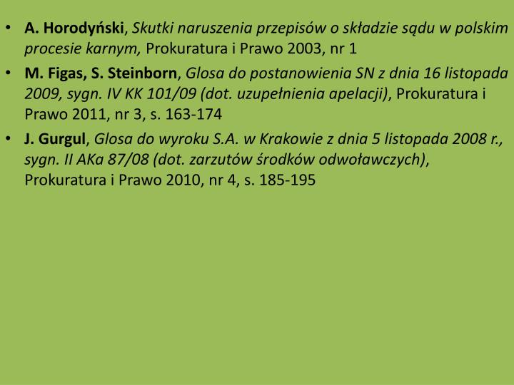 A. Horodyski