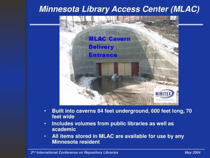 Minnesota Library Access Center (MLAC)