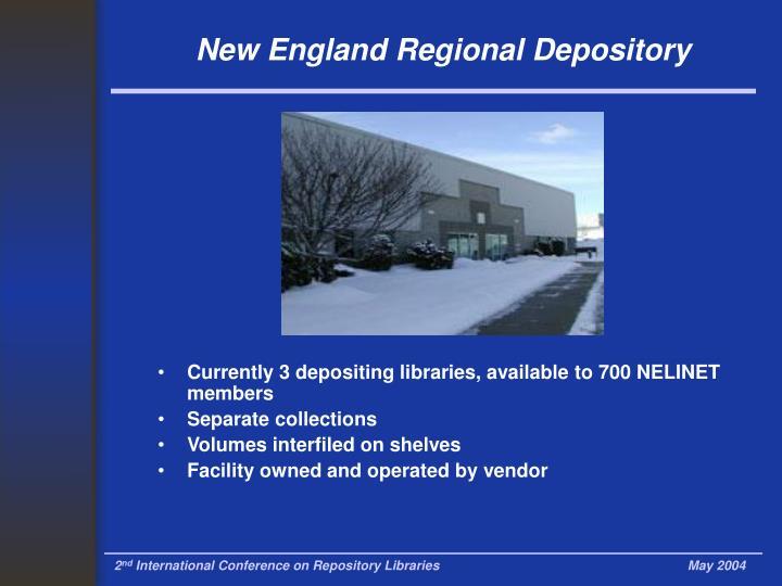 New England Regional Depository