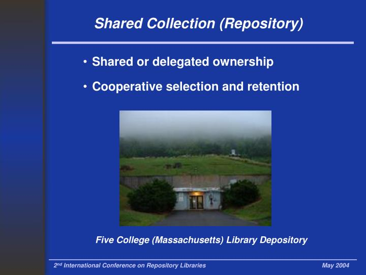 Five College (Massachusetts) Library Depository