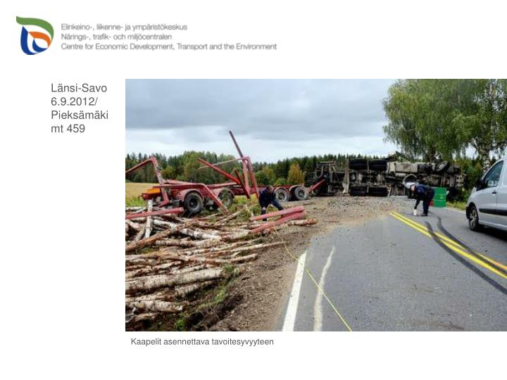Länsi-Savo 6.9.2012/ Pieksämäki