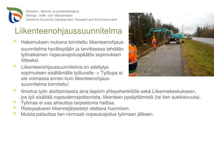 Liikenteenohjaussuunnitelma