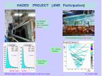 hades project jinr participation