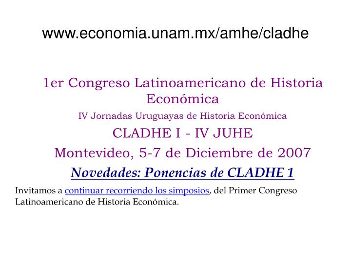 www.economia.unam.mx/amhe/cladhe