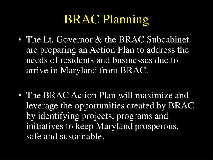 BRAC Planning