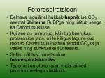 fotorespiratsioon