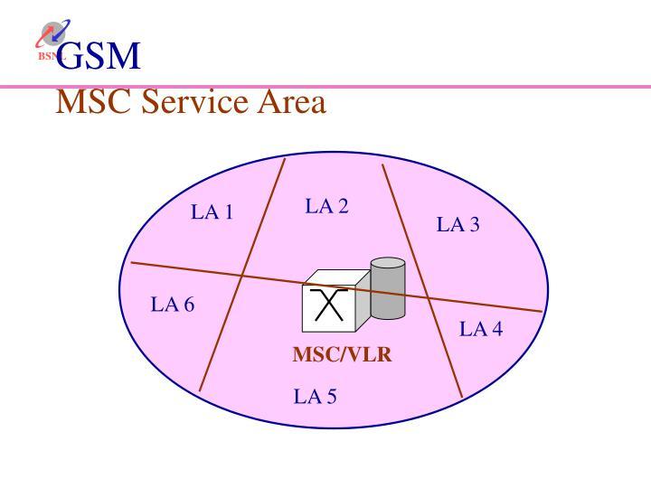 MSC/VLR