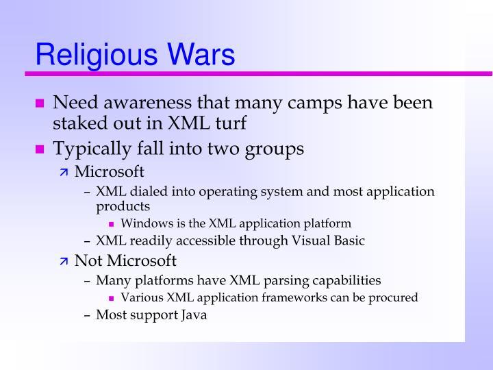 Religious Wars