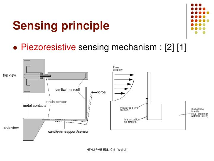 Sensing principle