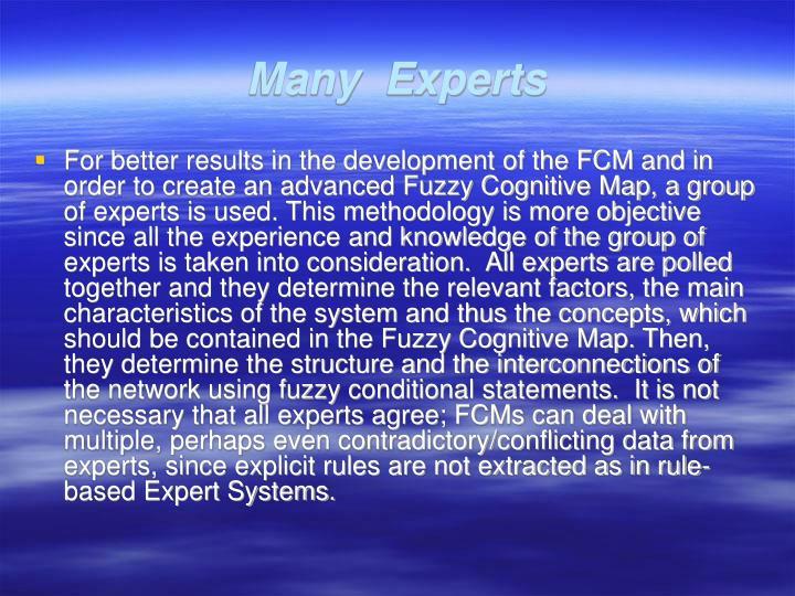 Many  Experts