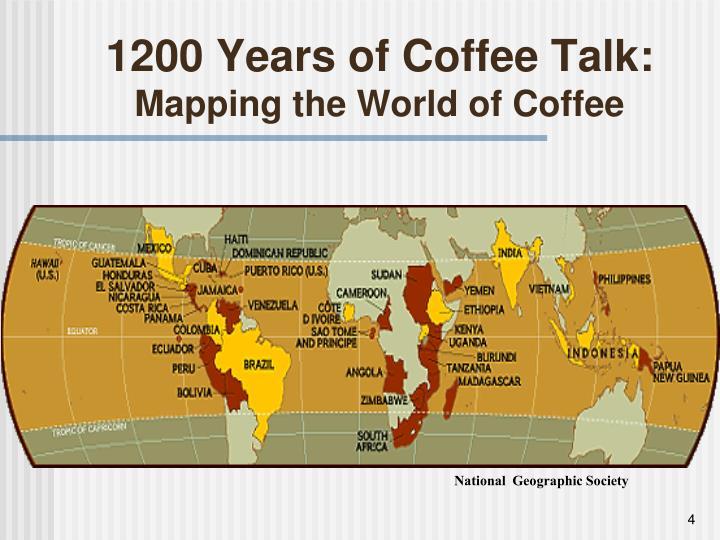 1200 Years of Coffee Talk: