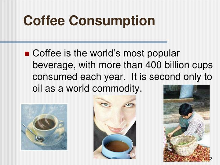 Coffee Consumption