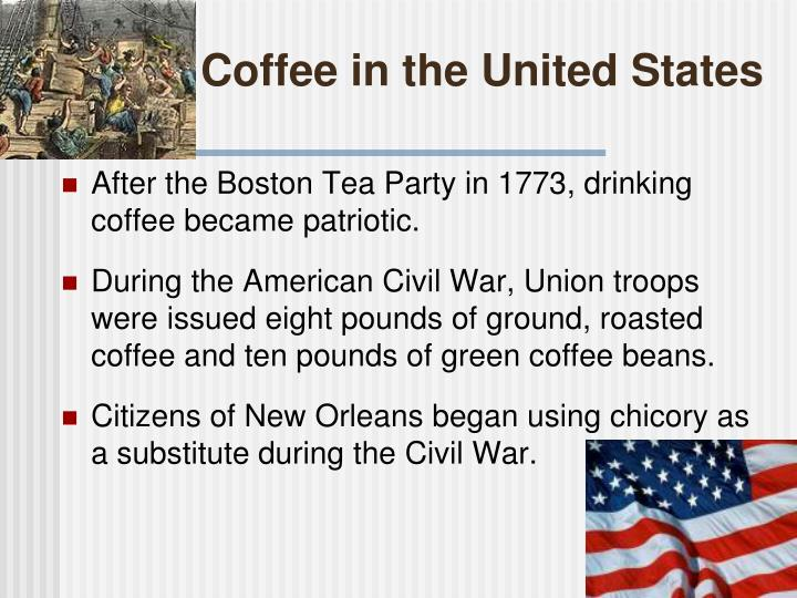Coffee in the United States
