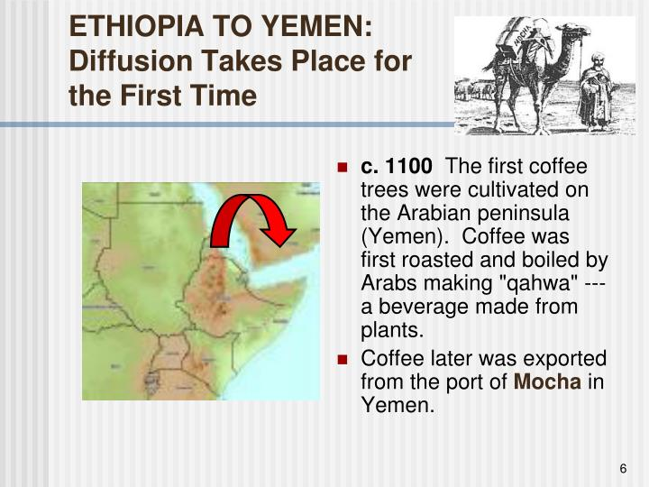 ETHIOPIA TO YEMEN: