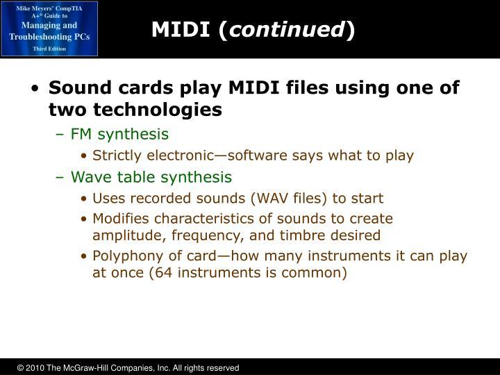MIDI (