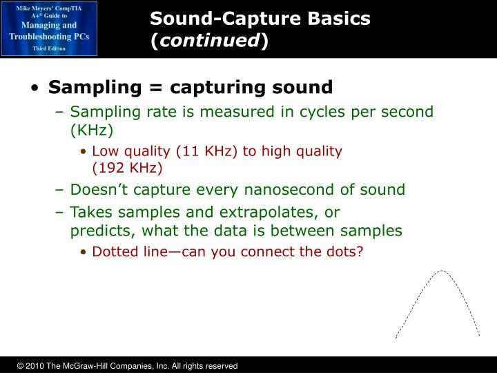 Sound-Capture Basics (