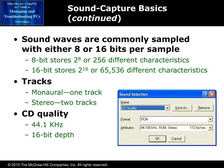 Sound-Capture Basics (