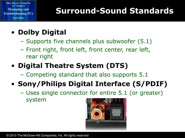 Surround-Sound Standards