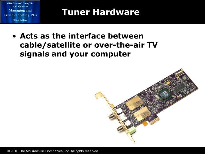 Tuner Hardware