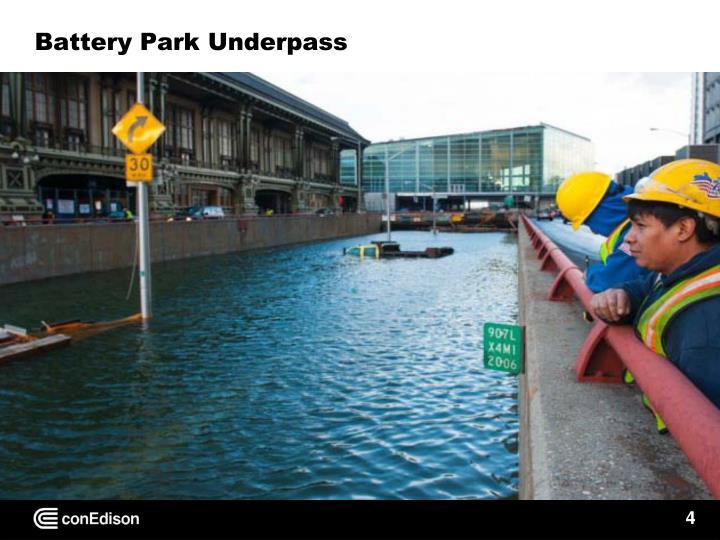 Battery Park Underpass
