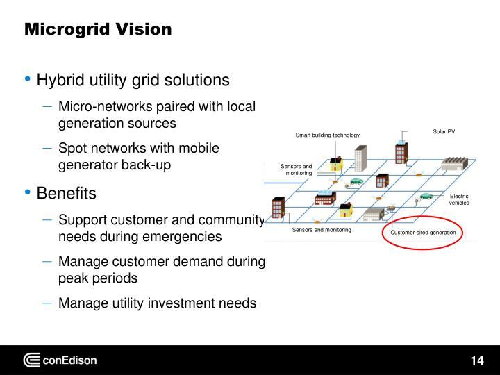 Microgrid Vision