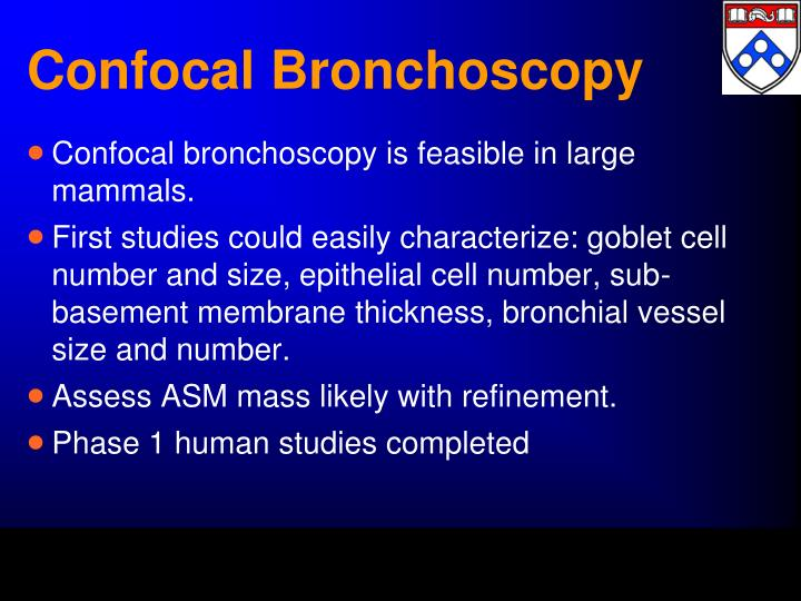 Confocal Bronchoscopy