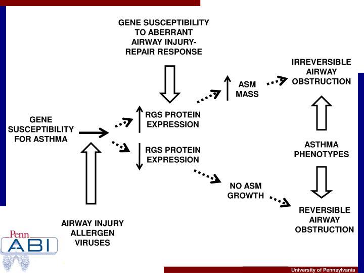GENE SUSCEPTIBILITY