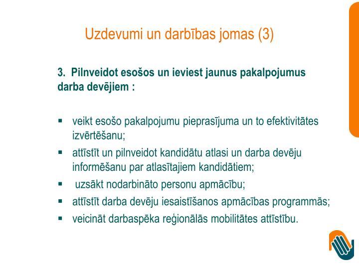 Uzdevumi un darbības jomas (3)