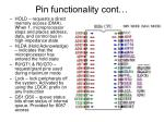 pin functionality cont1