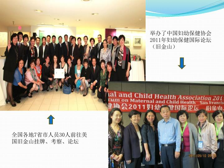举办了中国妇幼保健协会