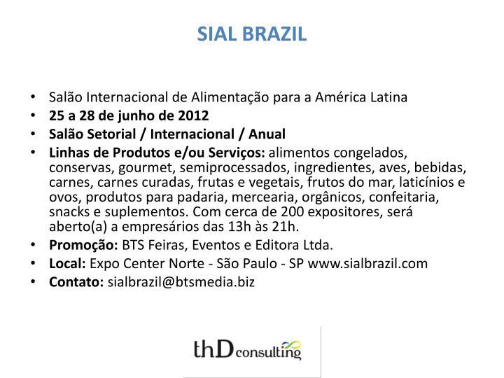 SIAL BRAZIL