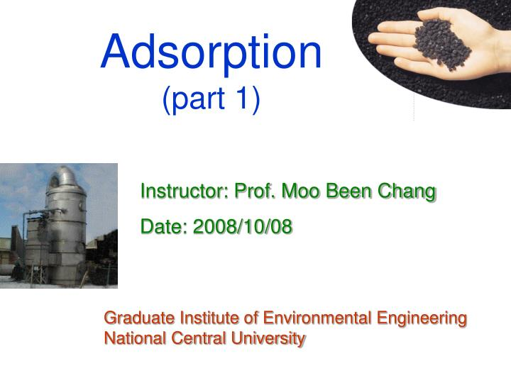 Adsorption part 1