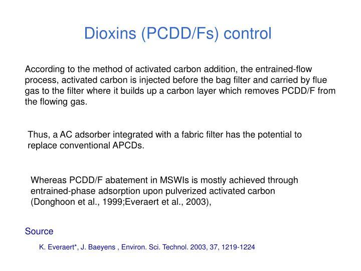 Dioxins (PCDD/Fs) control