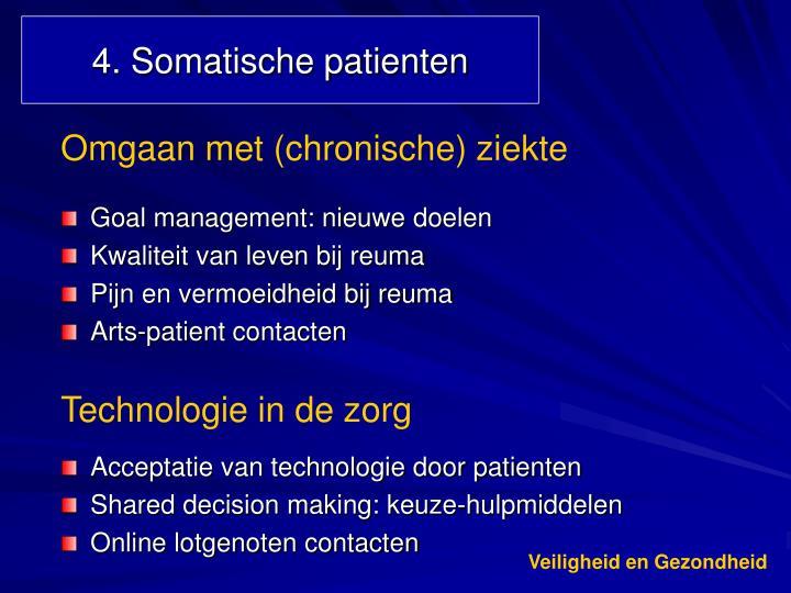 4. Somatische patienten