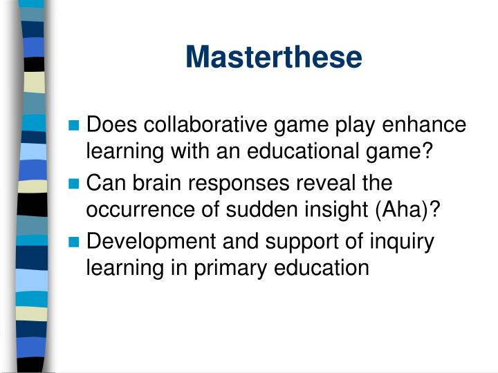 Masterthese