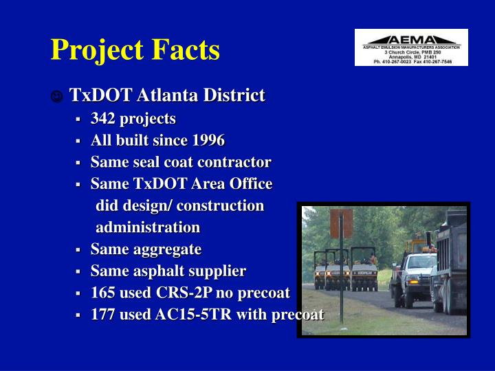 Project Facts