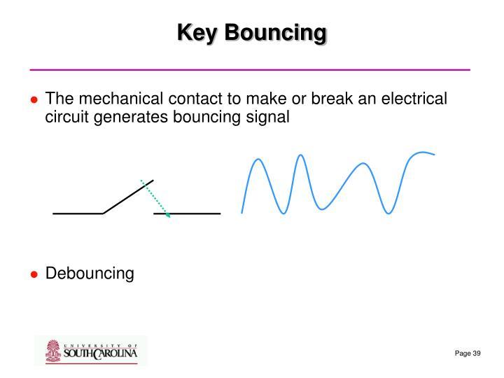 Key Bouncing