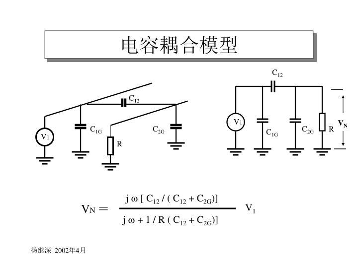 电容耦合模型