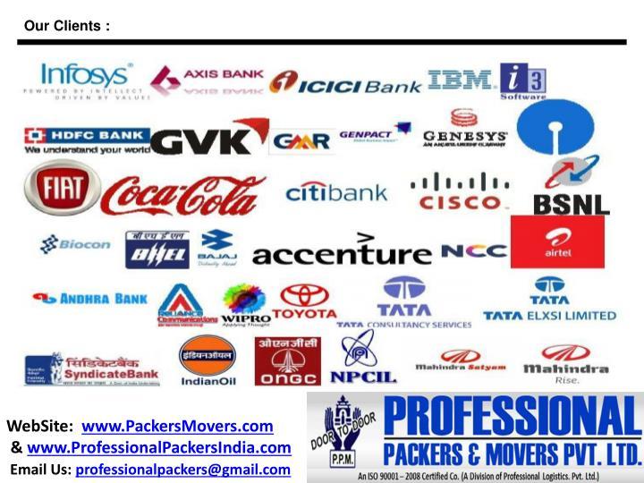 Our Clients :
