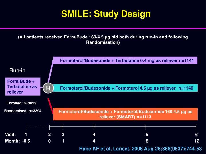 SMILE: Study Design