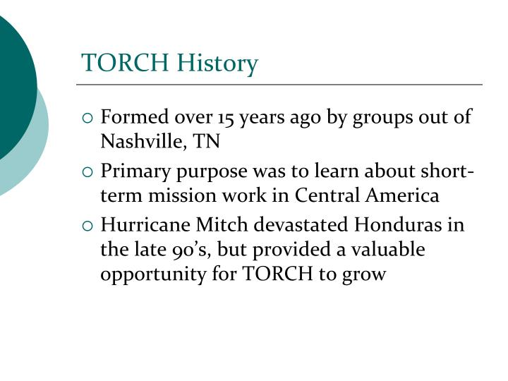 Torch history