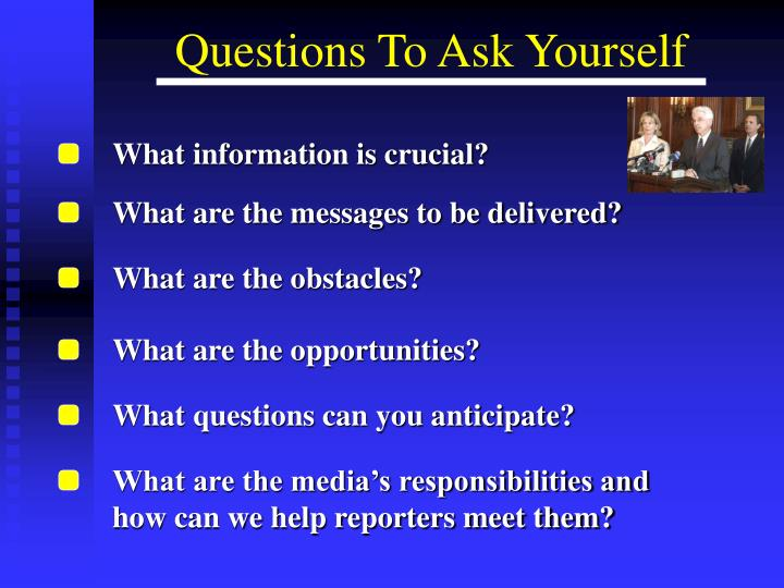 What information is crucial?