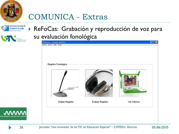 COMUNICA - Extras