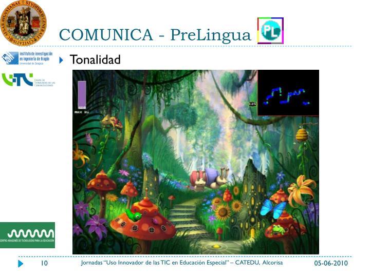 COMUNICA - PreLingua