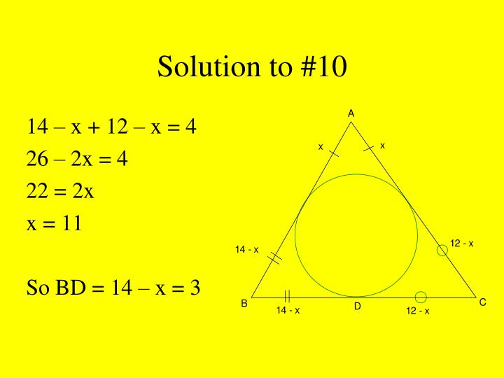 Solution to #10