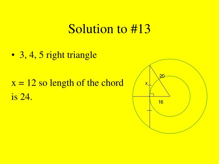 Solution to #13