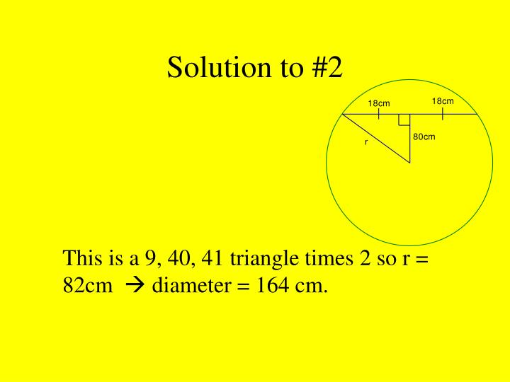 Solution to #2