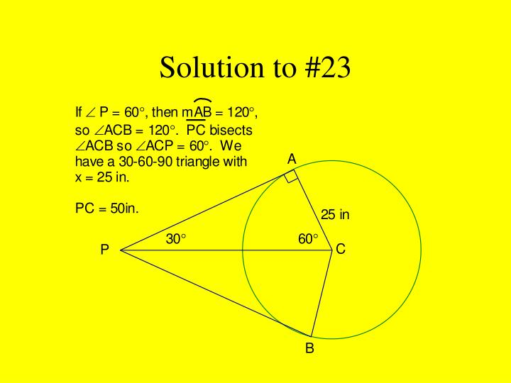 Solution to #23