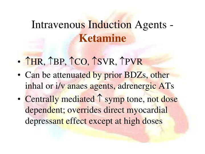 Intravenous Induction Agents -